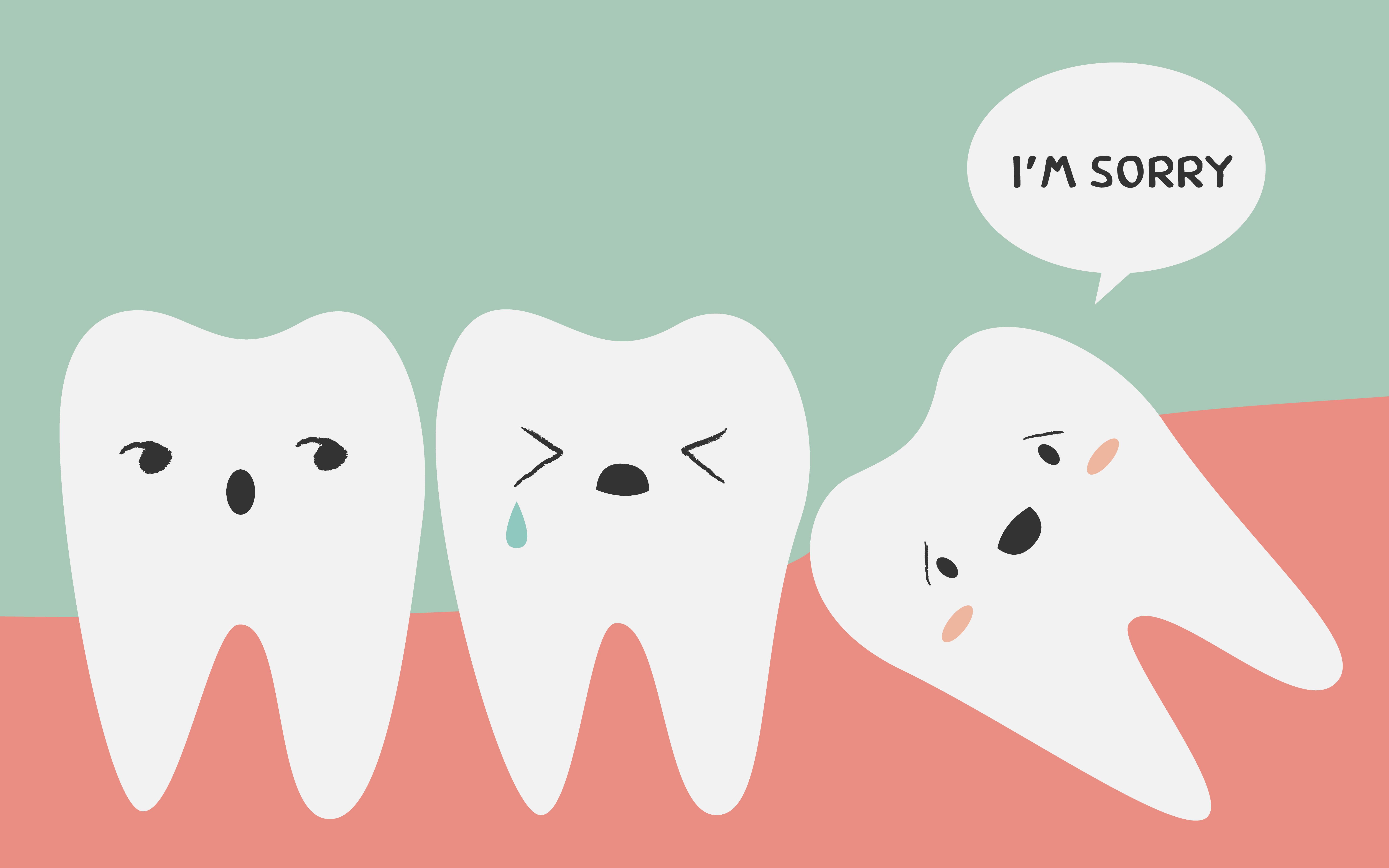 Мая, зубы прикол картинка